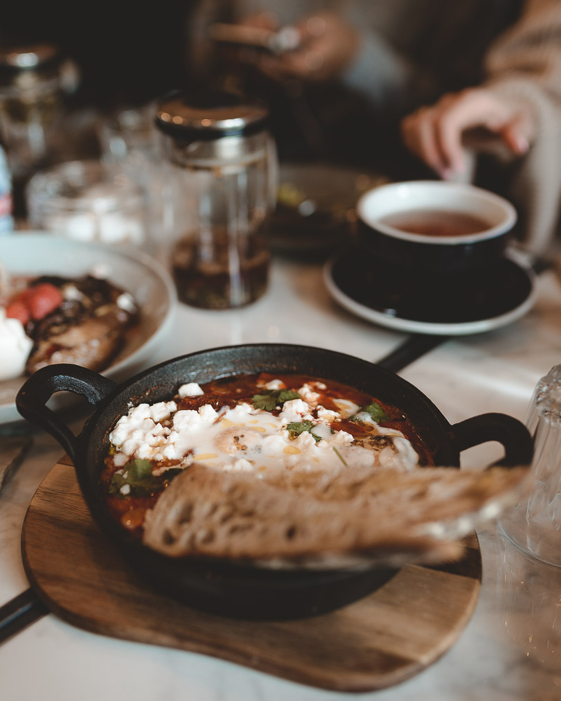 Shakshuka at Curated Kitchen Belfast