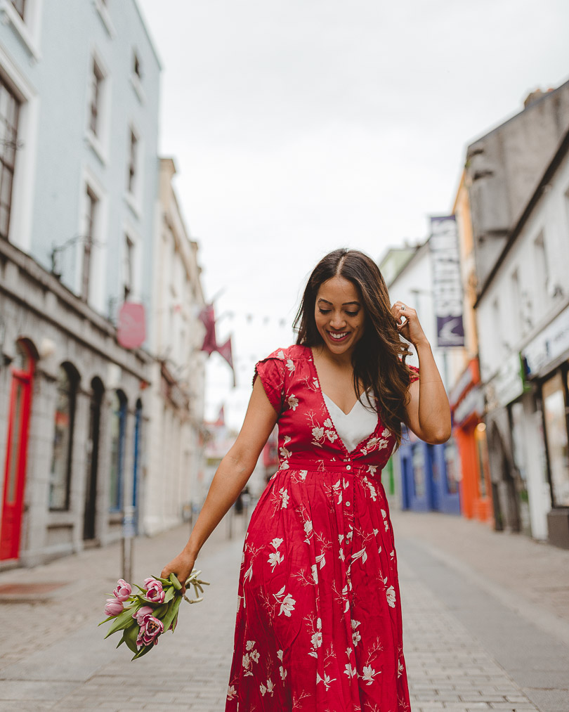 Streets of Galway City