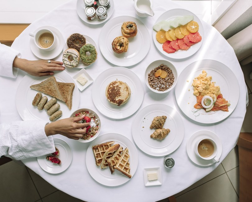 Breakfast at Fairmont Dubai
