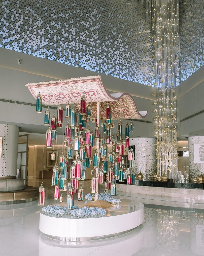 Fairmont Dubai lobby