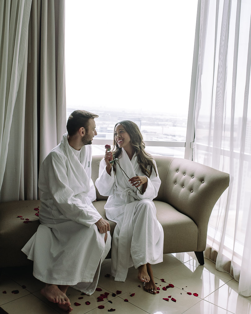 Honeymooning at Fairmont Dubai