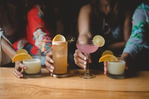 Craft cocktails at Cafe Mexico in Sarnia
