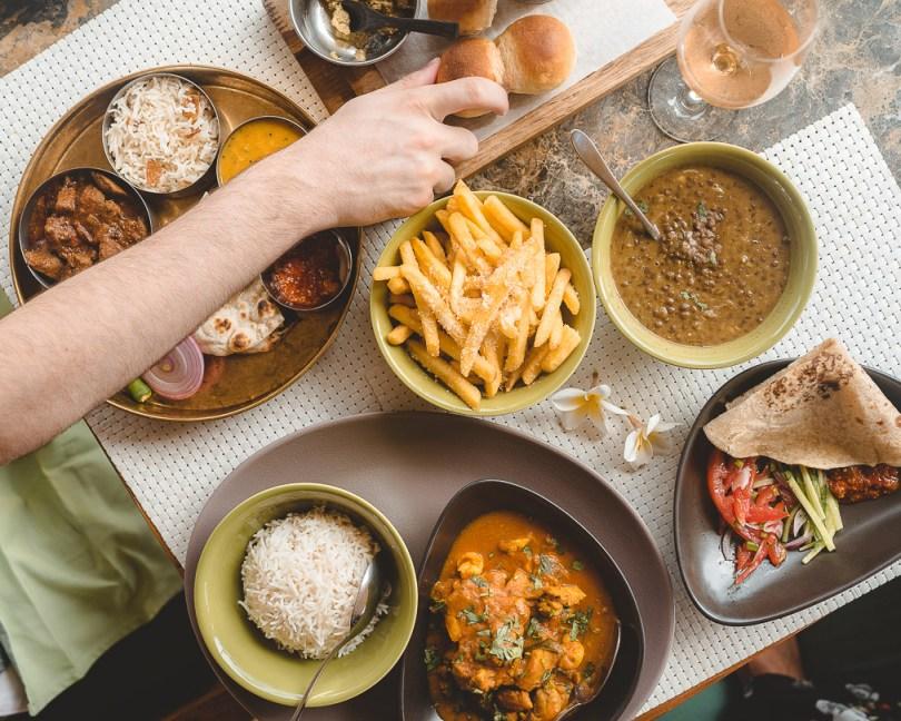 Four Seasons Mauritius food