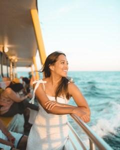 Olin Marler sunset dolphin cruise