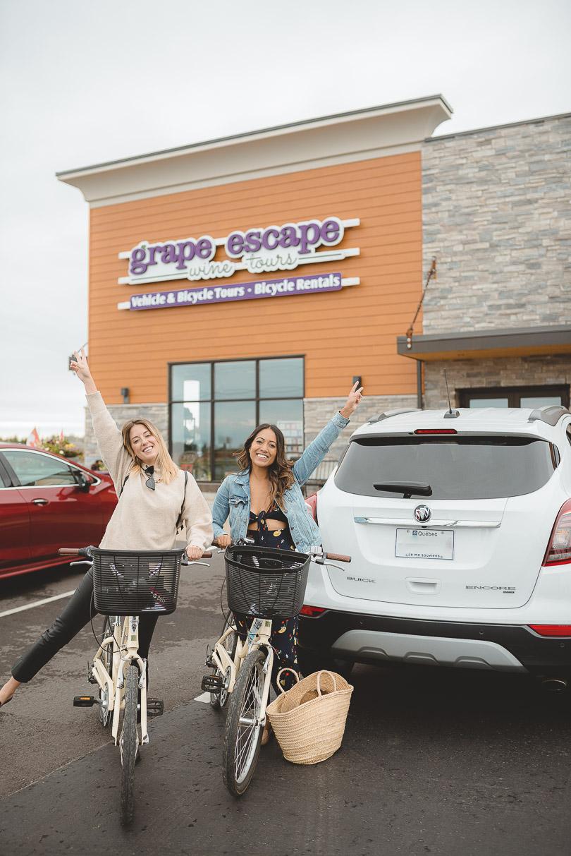 Wine Bike Tour with Grape Escape