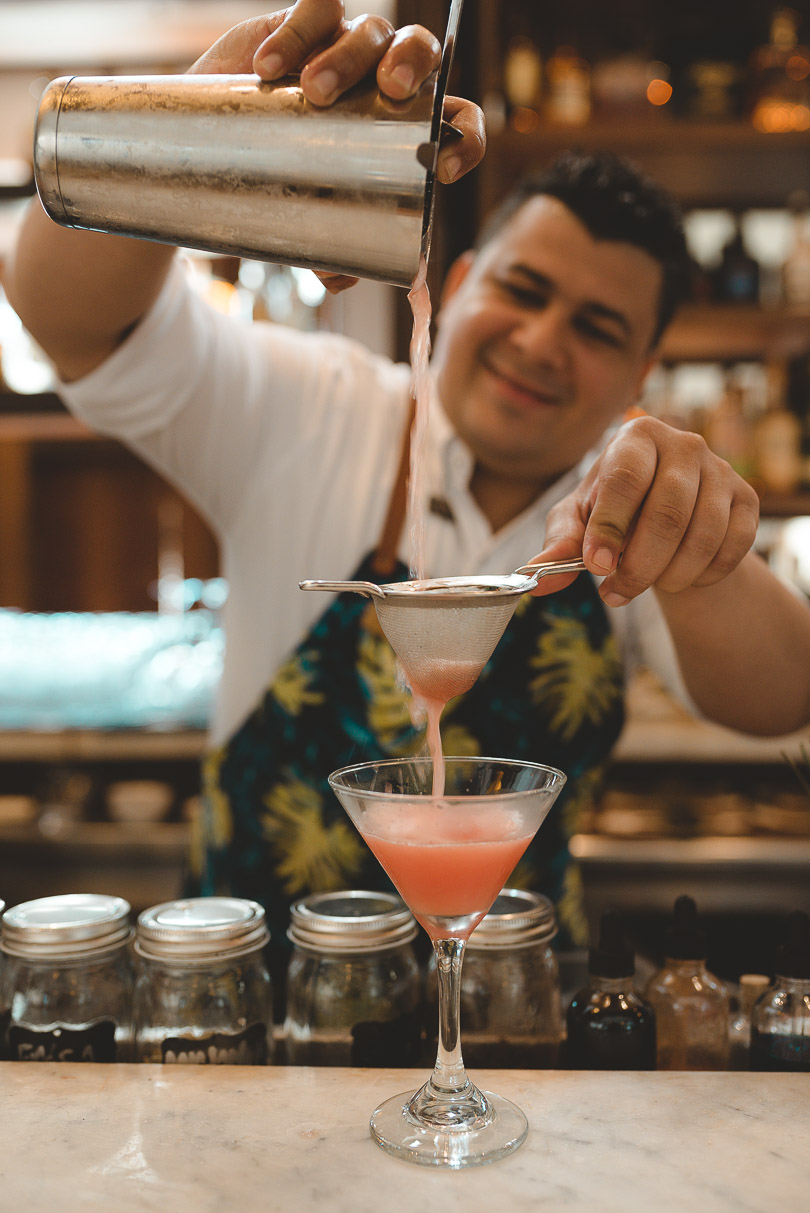 Alma bar at Casa San Agustin