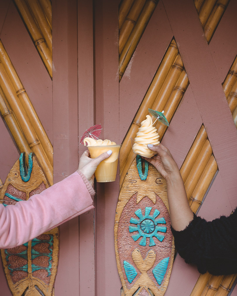Dole Whip at Disneyland