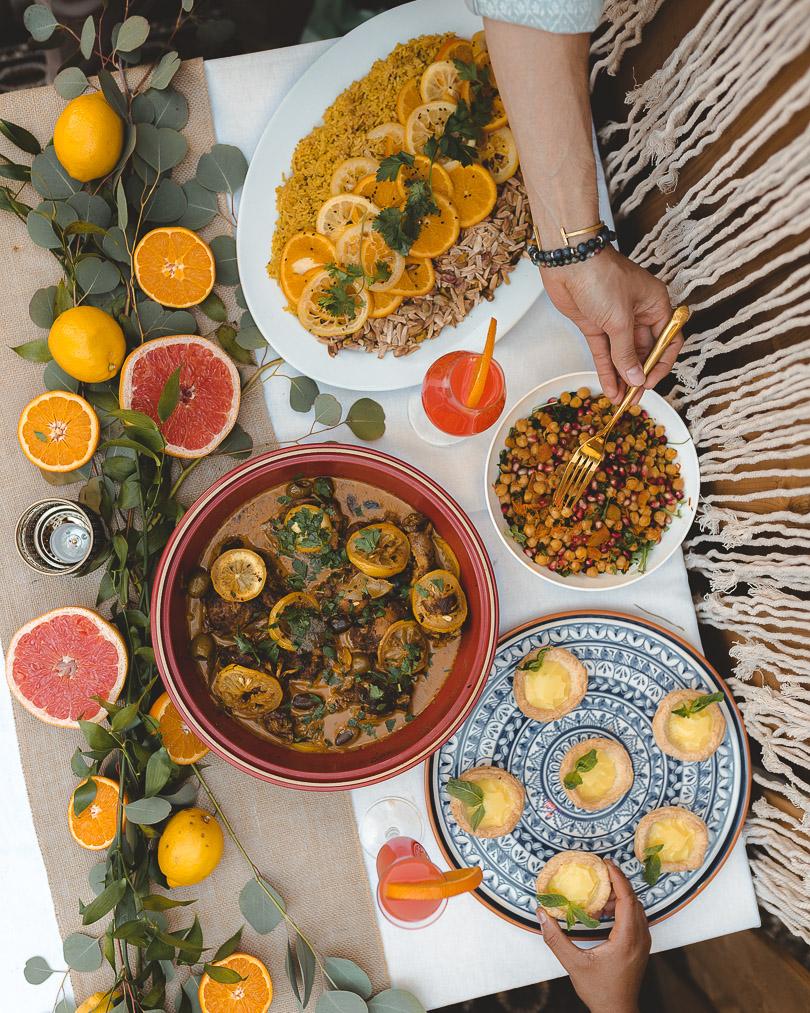 Moroccan citrus party