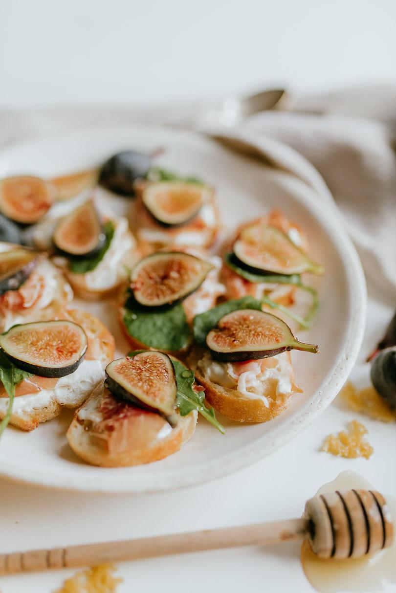 Prosciutto & Fig Crostini