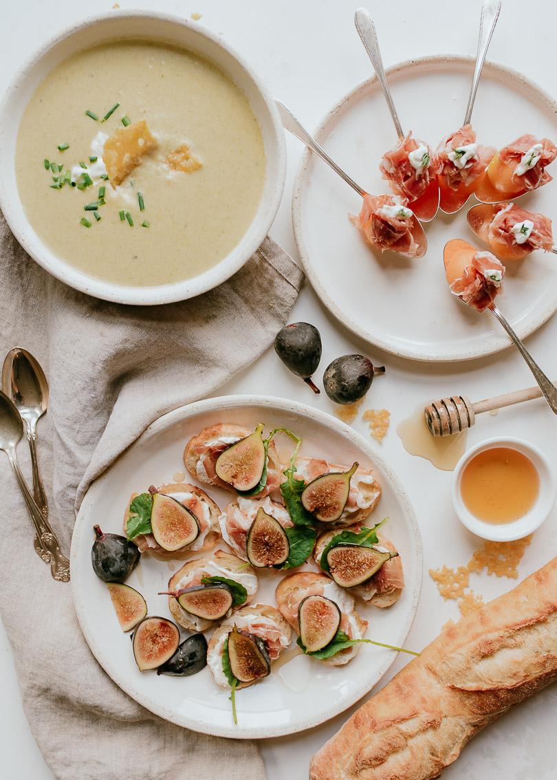 3 comforting appetizers using Grana Padano and Prosciutto