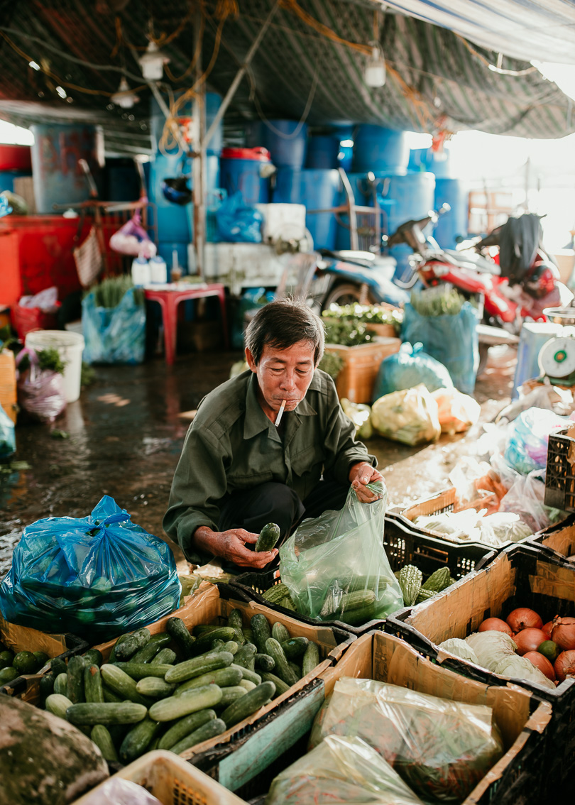 Can Tho Market in the Mekong Delta