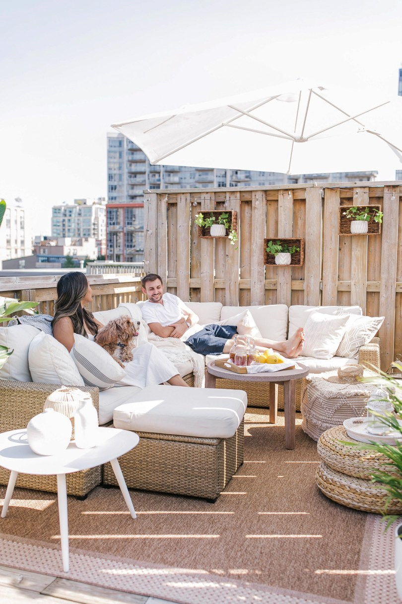 downtown Toronto patio makeover