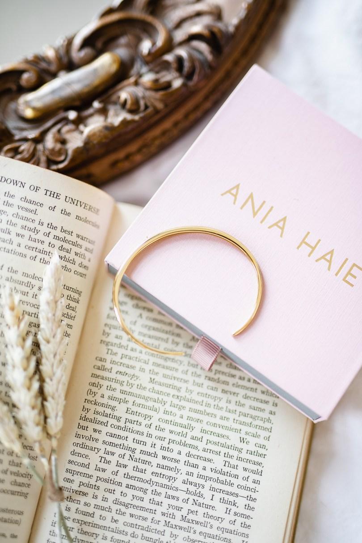 Ania Haie gold cuff