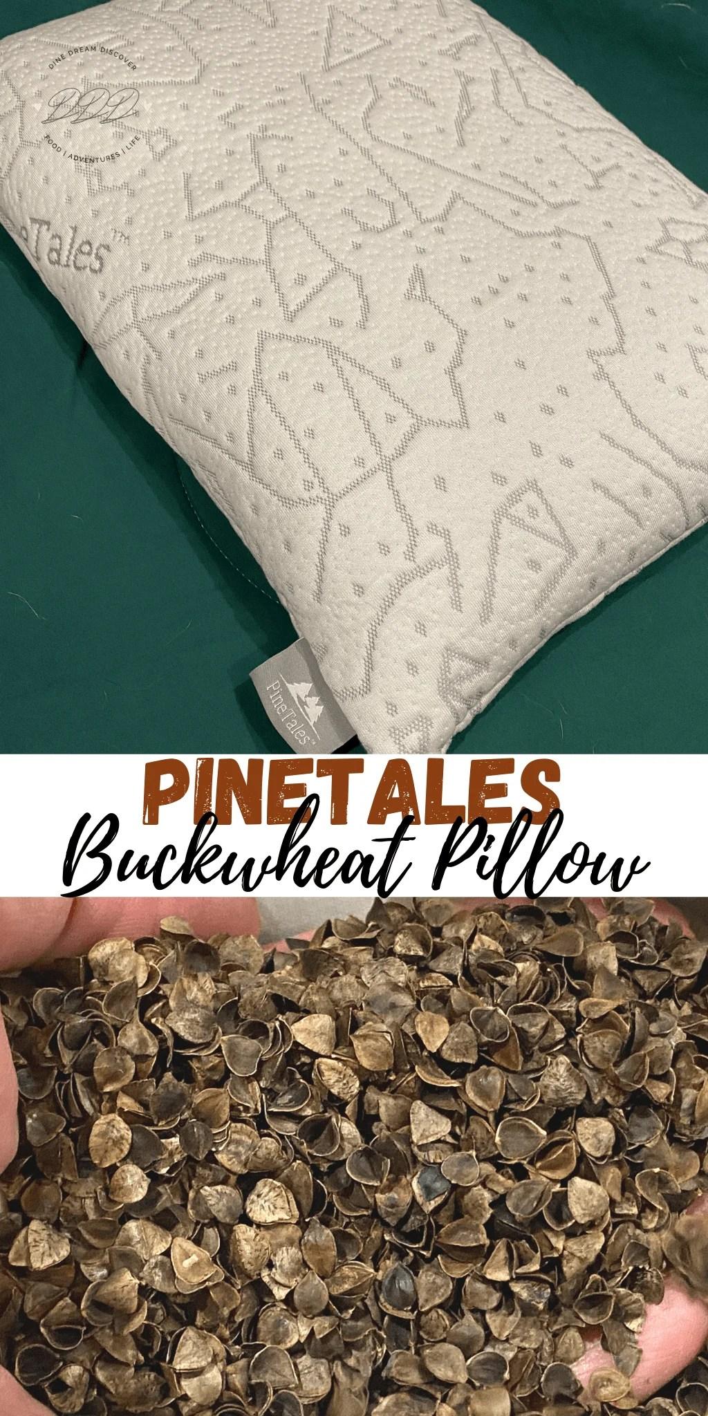 pinetales buckwheat pillow dine dream