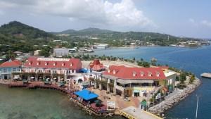 Roatan cruise pier