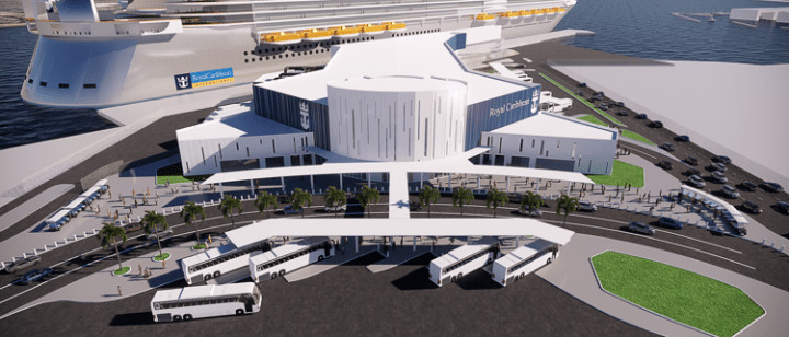 Port of Galveston officials are set to vote today on the details of a Cruise Terminal 3 in Galveston. If approved, look for Royal to announce soon an Oasis Class ship sailing from Galveston.