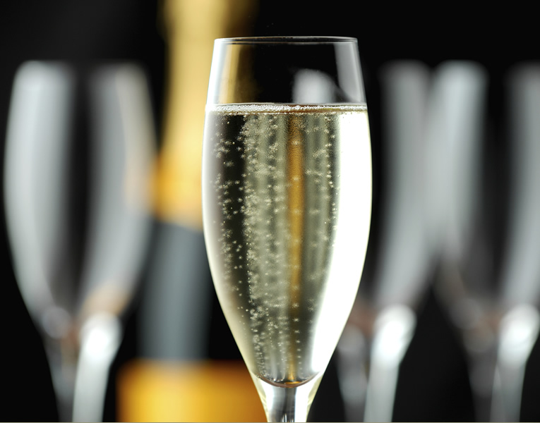 Champagne Fridays at Dine