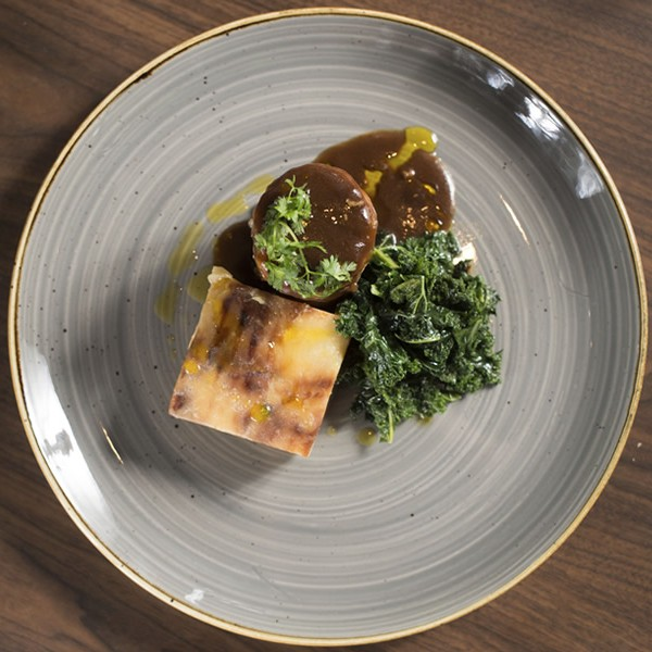 Lamb Shoulder with Dauphinoise Kale - A La Carte