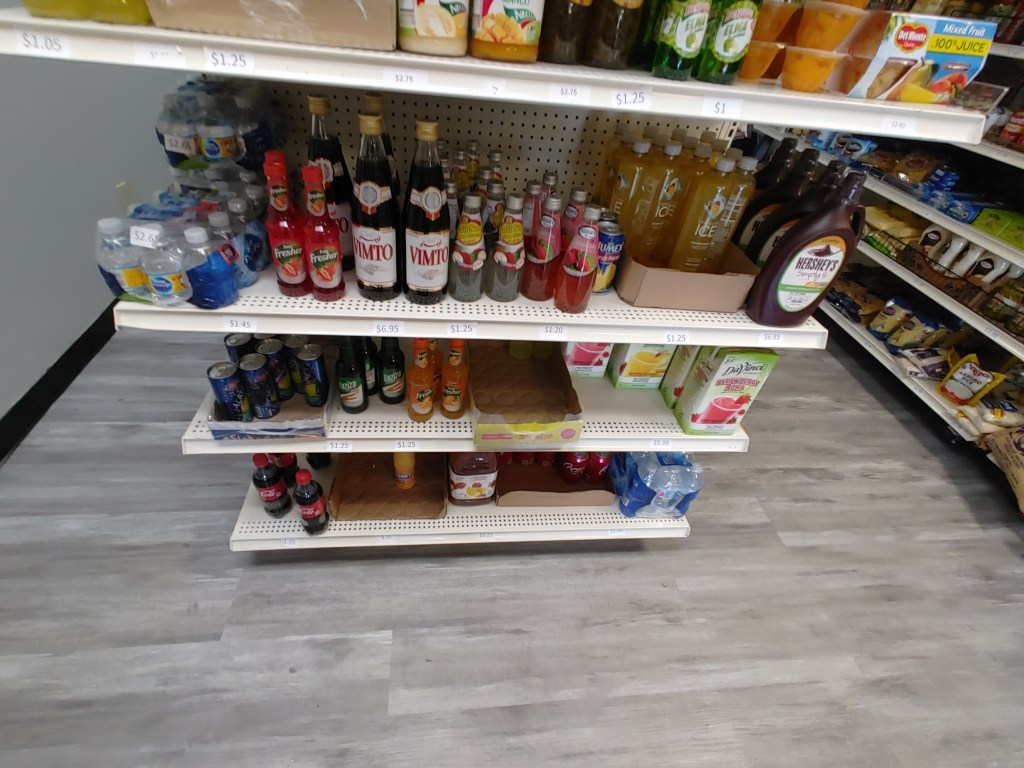 grocery items