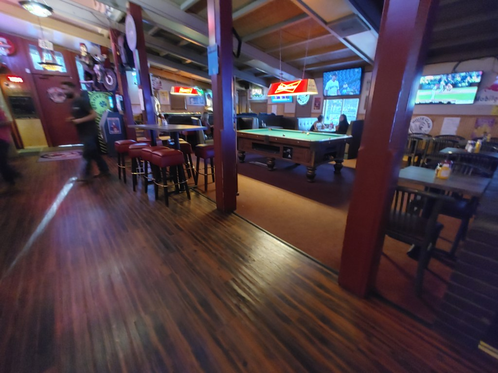 Roadhouse dining room