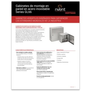Gabinetes de montaje en pared en acero inoxidable Series GL66