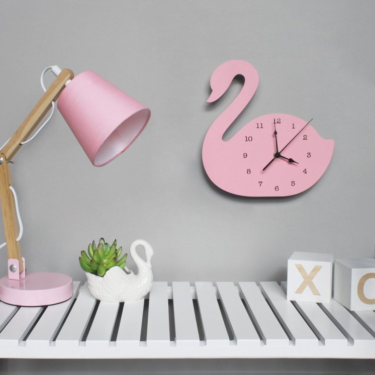 Swan Clock by Nest Accessories.