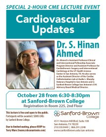 Cardiovascular Updates Flier | Sanford-Brown College