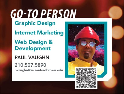 Go-To Person Sign | Sanford-Brown College