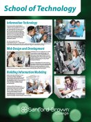Technology Programs Poster | Sanford-Brown College
