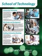 Technology Programs Poster | Sanford-Brown College