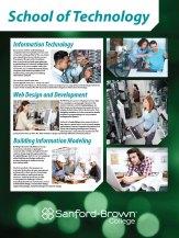Technology Programs Poster   Sanford-Brown College