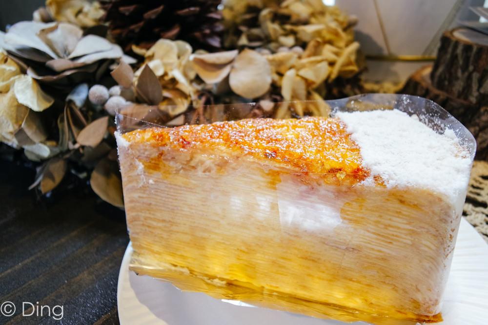 【台南美食】推薦好吃綜合千層蛋糕,人氣千層蛋糕店『狸小路手作烘焙』