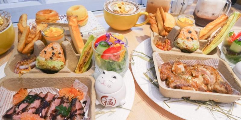 台南東區早午餐 餐廳也能野餐?主餐多樣化附餐豐富早午餐,「也野餐參」,推薦雞腿排、法式櫻桃鴨胸~鬆餅絕對不能錯過!