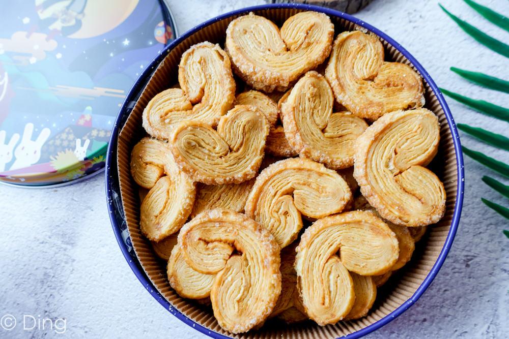 迪化街伴手禮團購宅配美食 「火星猴子餅乾-蝴蝶酥」,下午茶療癒手工餅乾。