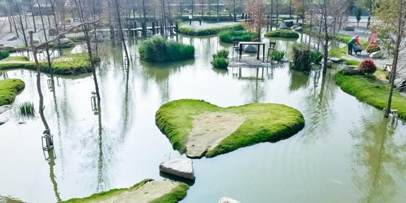 雲林景點 虎尾免費參觀「澄霖沉香味道森林館」,網美打卡景點,有愛心池的日式生態庭園。