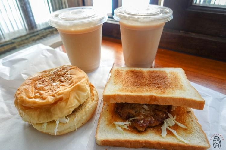 台南中西區早餐   哈利8號早餐(原哈利速食),中正路手作古早味漢堡肉,只賣漢堡、吐司,讓人排隊也願意!