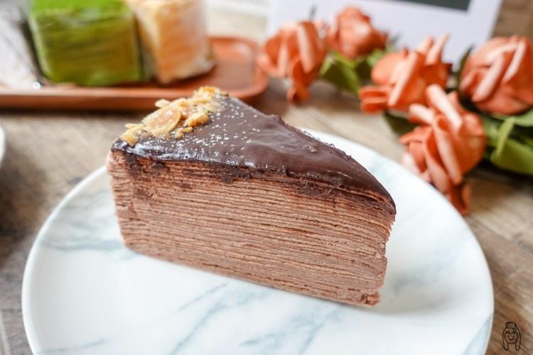 台南安平甜點 小鹿手作千層,隱藏版高CP值千層蛋糕,專售7吋整顆千層、綜合千層,適合當生日蛋糕喔!