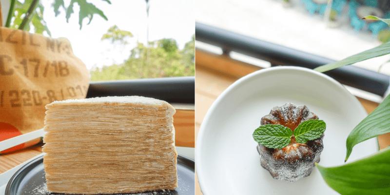 台南楠西梅嶺美食   Ouch Coffee,梅嶺隱藏版咖啡廳,有超高層數千層蛋糕跟豐富甜點、飲品。