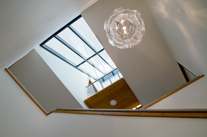 Vide In Hal : Vide hal trappartij dingemans architectuur