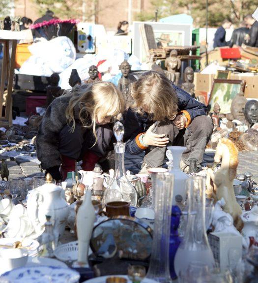 Marollen Vlooienmarkt Brussel