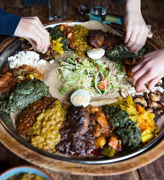 Toukoul Ethiopisch restaurant Brussel