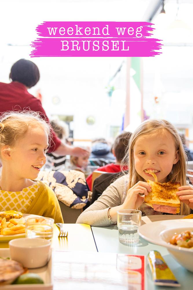 Citytrip Brussel met kinderen
