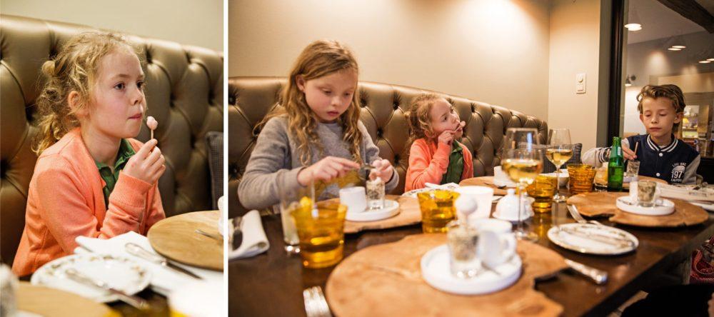 Gastronomisch eten: le Beau sejour