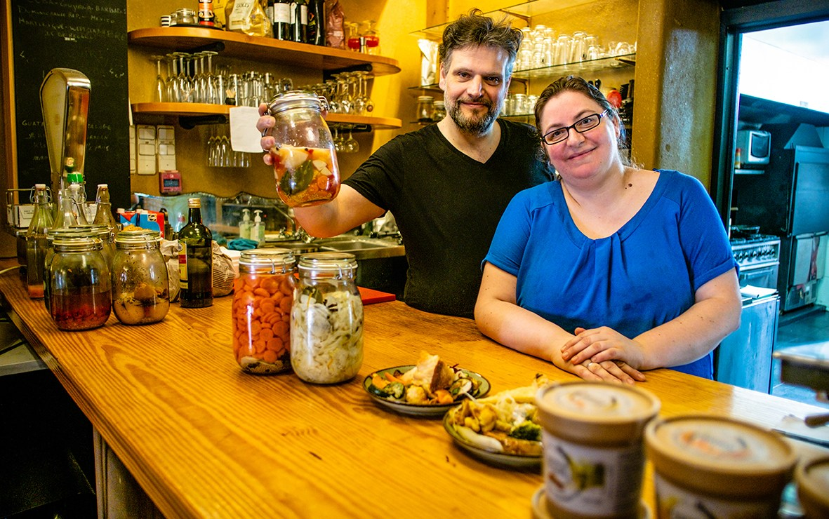 Zero Waste in de keuken: Bar Emma in Mechelen