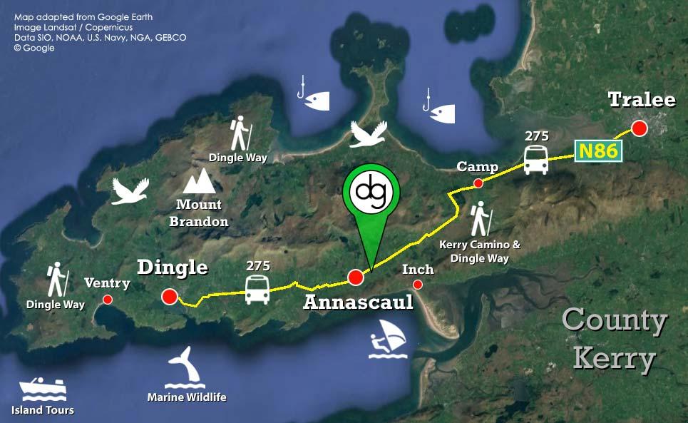 Budget Rooms Amp Camping Dingle Peninsula The Dingle Gate
