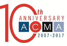 The Dingley Press American Catalog Mailers Association (ACMA) 10th anniversary Badge