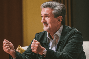 Ted Leonsis sharing his personal experiences
