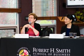 Expert panelists Amy Millman and Ting Shih