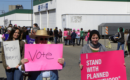 Dispatches From The War On Women: Planned Parenthood Joins The Voter ID Fight