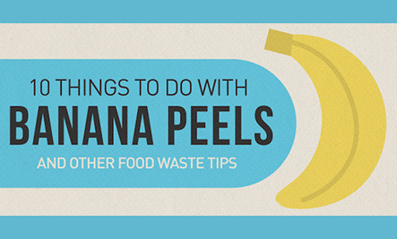 10 Ways to Reuse Banana Peels